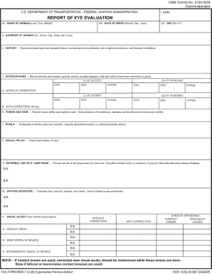 Faa Form 8500 7 - Fill Online, Printable, Fillable, Blank | PDFfiller