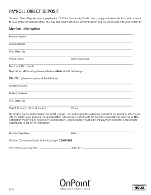 First Tennessee Direct Deposit Form Fill Online Printable Fillable Blank Pdffiller