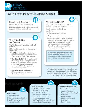 Get yourtexasbe form - PDFfiller