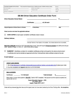 De 964 - Fill Online, Printable, Fillable, Blank   PDFfiller