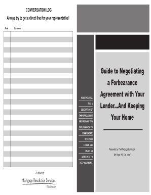 Guide to Negotiating a Forbearance Agreement with Your Lender ...