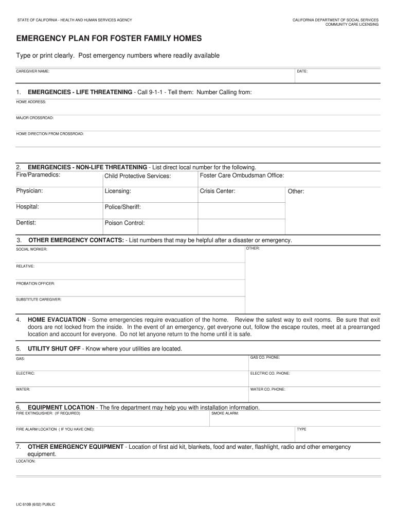 Lic 610b - Fill Online, Printable, Fillable, Blank | PDFfiller