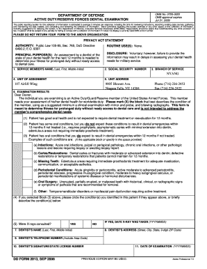 Ms word dd 2813 form fill online printable fillable blank