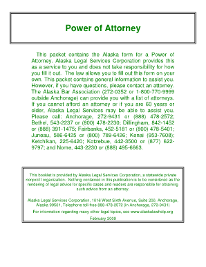 durable power of attorney alaska pdf alaska