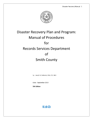 network disaster recovery plan pdf