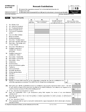 form 990 schedule a instructions