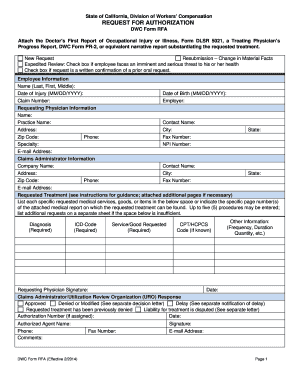 Ca Form Rfa - Fill Online, Printable, Fillable, Blank | PDFfiller