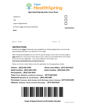 Fillable Online Fax Cover Sheet HealthSpring MAPD_09162013.xlsx ...