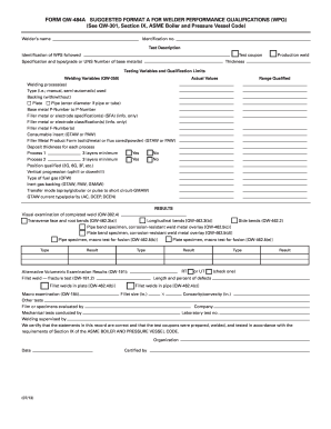 2013-2019 Form QW-483 Fill Online, Printable, Fillable