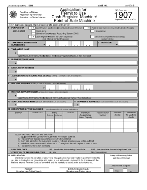 Form 1907 - Fill Online, Printable, Fillable, Blank | PDFfiller Application Form Bir on application to join motorcycle club, application for employment, application database diagram, application to date my son, application for scholarship sample, application for rental, application meaning in science, application template, application trial, application service provider, application clip art, application error, application approved, application cartoon, application insights, application to rent california, application in spanish, application to join a club, application submitted, application to be my boyfriend,