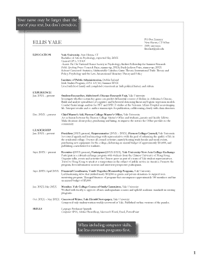 resume examples form