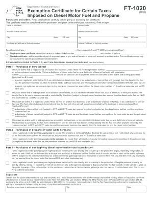 Ft10201 Nys - Fill Online, Printable, Fillable, Blank | PDFfiller