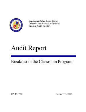 Draft Audit Report In Word Format For Printing  Format For Audit Report