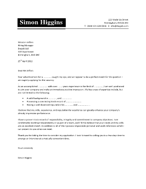 simon higgins cover letter form