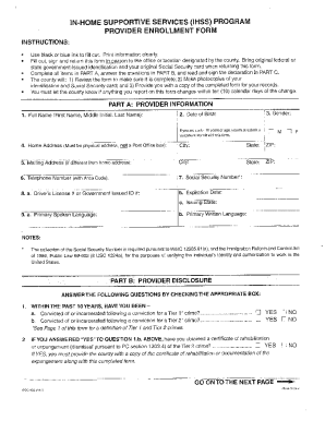 Ihss Forms Online Fillable 426 - Fill Online, Printable, Fillable ...