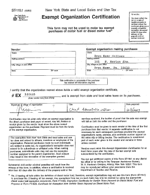 Fillable Online brynmawr ST-119.1 Fax Email Print - PDFfiller