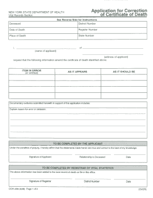 Fake death certificate for work forms and templates fillable death certifiket gowrigopal ho form yadclub Image collections
