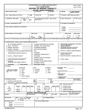 2013-2017 Form USCG CG-2692 Fill Online, Printable, Fillable ...