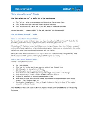 Walmart No Credit Check Financing >> Fillable Online How To Write a Check for Your OPT Application Fax Email Print - PDFfiller