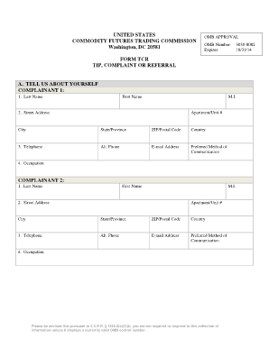 Fillable Online cftc Form TCR - Commodity Futures Trading Commission on entertainment order form, money order form, product order form, manufacturing order form, customer order form, produce order form, commodities order form, furniture order form, coffee order form, payment order form, corporate order form, engineering order form, invoice order form, production order form, equipment order form, asset order form, mediation order form, event order form, retail order form, trade order form,