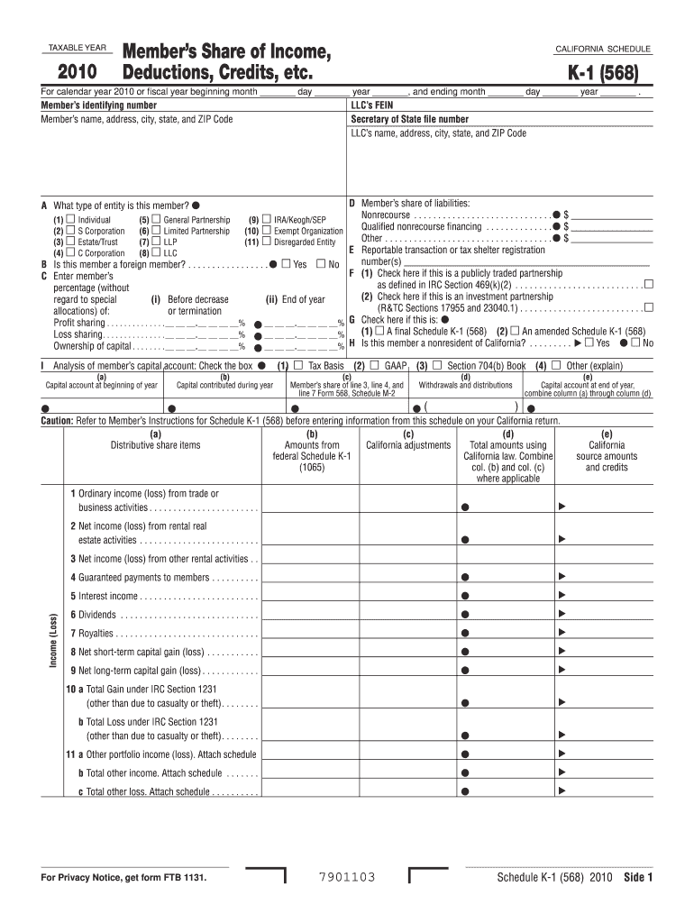 Section 568 Final K 1 - Fill Online, Printable, Fillable