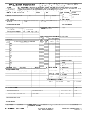 Dd form 1351 2 mar 2008 fill online printable fillable blank