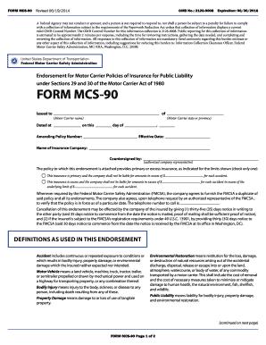 Motor carrier form mcs 150 mcs 150 form fill online for Motor carrier identification report