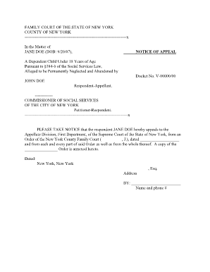 AF Form 931, 20140701 - nycourts