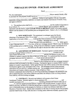 Iowa Purchase Agreement  Printable Purchase Agreement