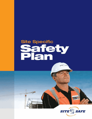 1. Site Specific Safety Plan Checklist - Site Safe