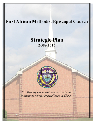 Church strategic plan template fillable fill online printable church strategic plan template fillable flashek Choice Image