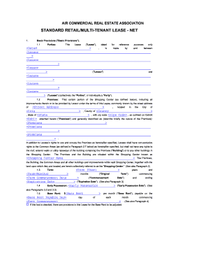 15 Printable Commercial Sublease Agreement Ontario Forms And