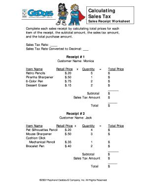 photo regarding Printable Sales Receipt Pdf identified as 12 Printable profits receipt pdf Styles and Templates