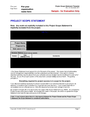 fill in blank project sample pdf form