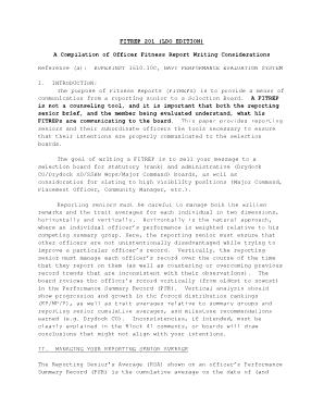 Navy Fitrep 201 - Fill Online, Printable, Fillable, Blank | PDFfiller