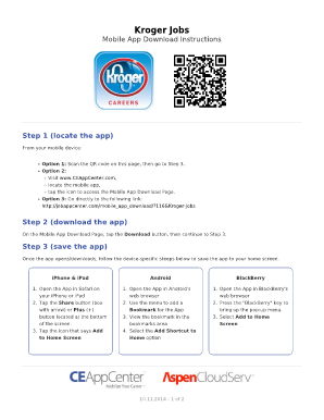 Online Application For Kroger Fill Online Printable Fillable