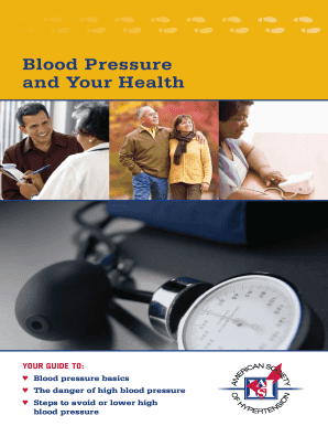 Blood Pressure Tracker - American Heart Association