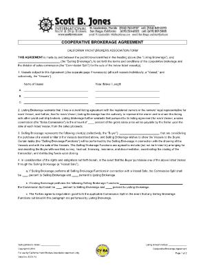 Broker agreement definition