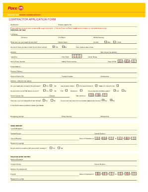 CourierPost Contractor Application Form. German Retail Property Market Analysis