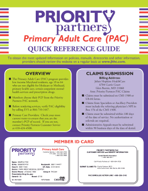 Primary Adult Care (PAC) - gbmc