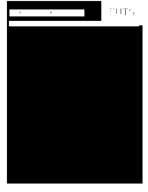 blank cover sheet