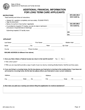 Hfs Form Illinois - Fill Online, Printable, Fillable, Blank ...