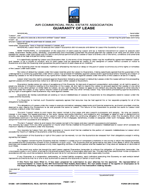 air commercial real estate association form. Resume Example. Resume CV Cover Letter
