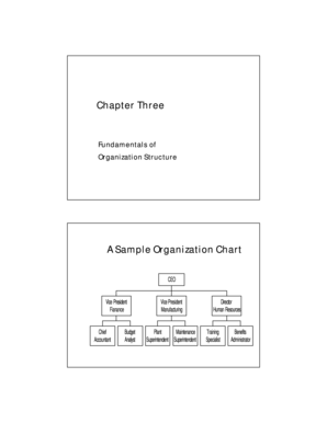 Fundamentals of Organization Structure - unf