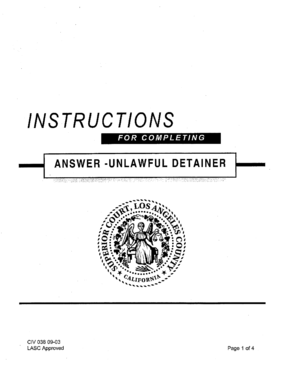 Fillable Online Lasuperiorcourt Instructions Superior Court Of California County Of Los Angeles Lasuperiorcourt Fax Email Print Pdffiller Add place (company, shop, etc.) to this building. pdffiller