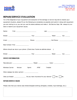 Cell Phone Repair Authorization Form Today Manual Guide Trends - Cell phone repair form template