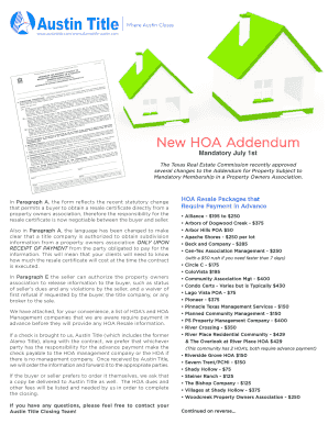 texas association of realtors commercial contract financing addendum