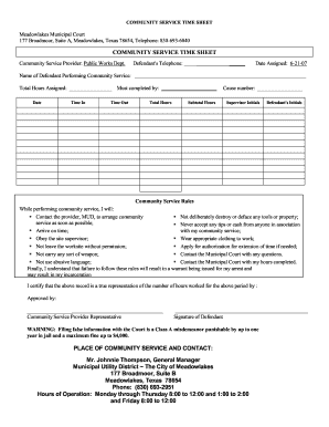 29 printable volunteer timesheet template forms fillable samples