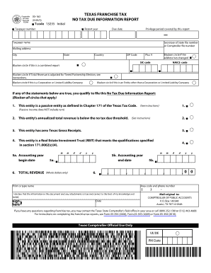 Texas Franchise Tax Form 05 163 For 2009 - Fill Online, Printable ...