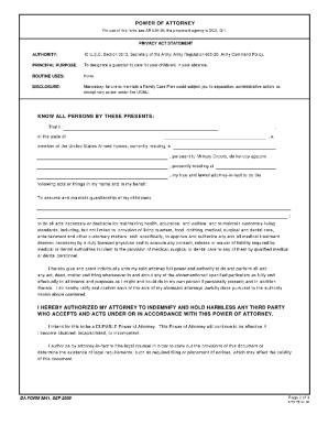 Da 5841 - Fill Online, Printable, Fillable, Blank | PDFfiller